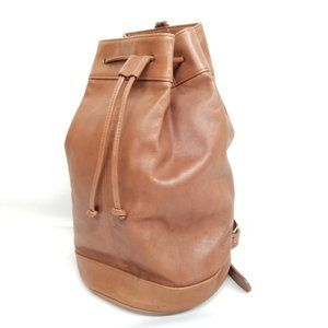 Coach XL Bucket Bag Drawstring Sling Duffle #022